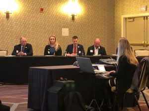 Jeff Wilkerson, director of market development with the Nebraska Corn Board, addressed members of the EPA regarding the agency's supplemental proposal to the 2020 Renewable Volume Obligation (RVO) rulemaking. Wilkerson's comments were made on behalf of Nebraska's corn industry.