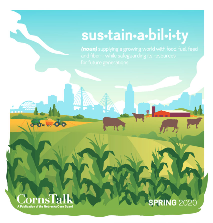 Cover of Sustainability Cornstalk